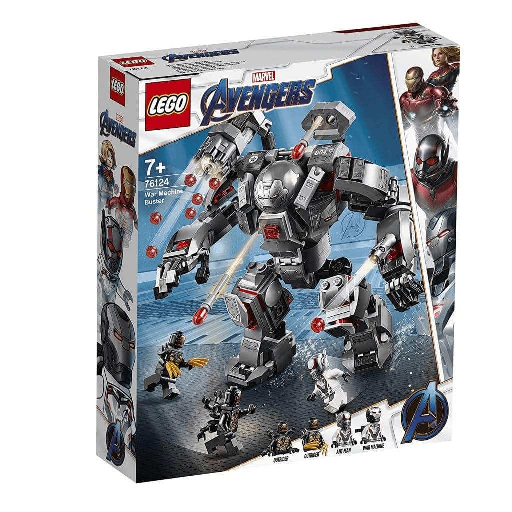 LEGO Marvel Avengers 76124 War Machine Buster