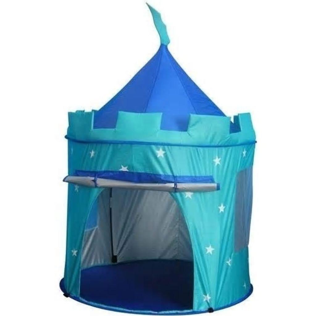 Afbeelding van Amleg pop up speeltent blauw 104 x 140 cm