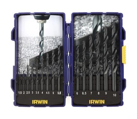 Irwin Zestaw wierteł HSS Pro, 15 elementów, 10503989