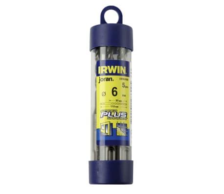 Set de 5 forets Speedhammer Plus 6 x 110 mm de Irwin 10503605[2/2]