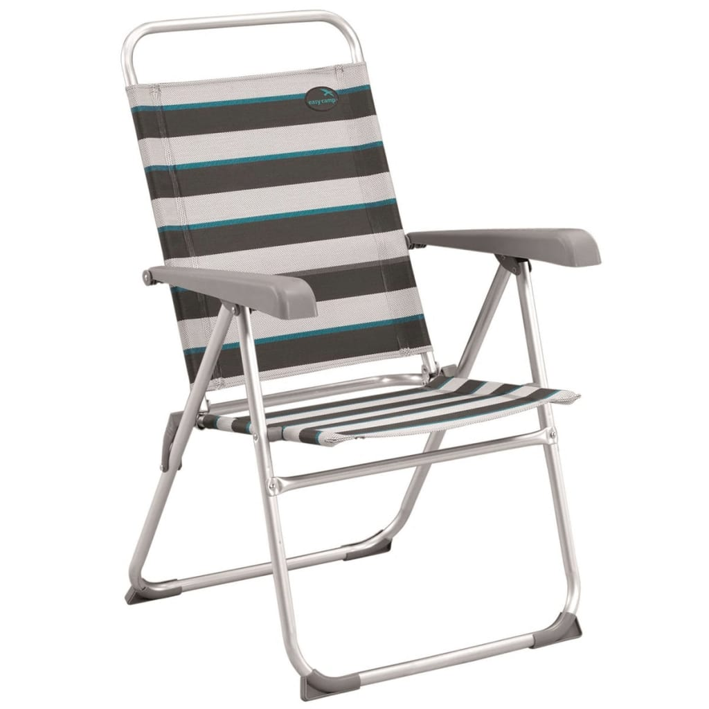 Easy Camp Sammenleggbar campingstol Spica grå 58x58x95,5 cm 420022