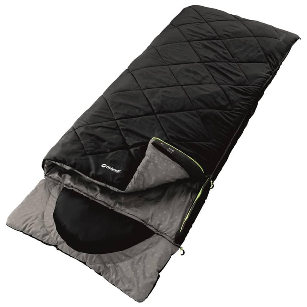 Outwell Sac de dormit Contour, 225x90 cm, negru, 230084 poza vidaxl.ro