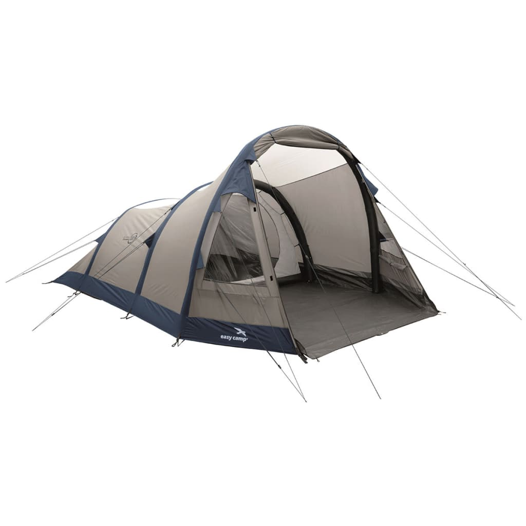 Easy Camp Cort gonflabil Blizzard 500, gri și albastru, 120252 vidaxl.ro