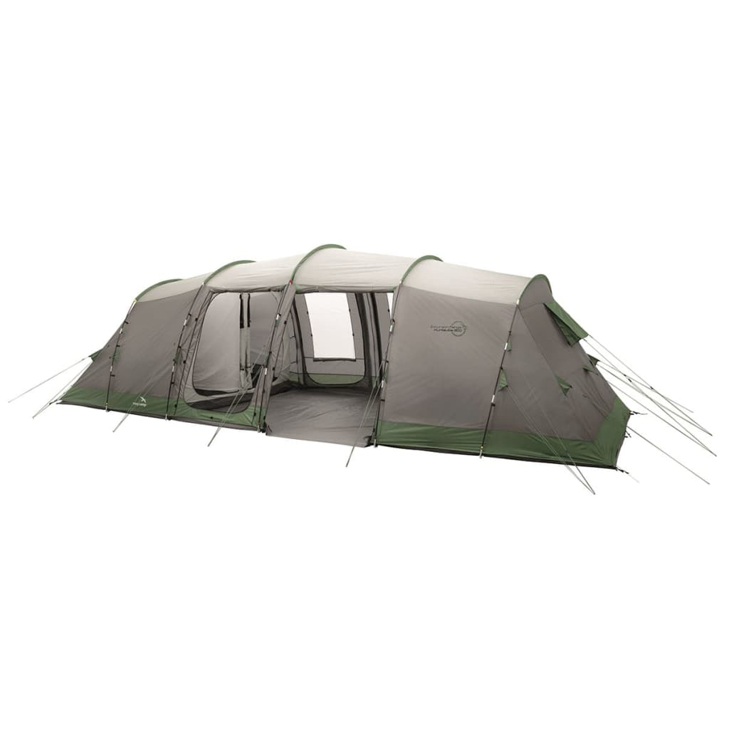 Easy Camp Cort Huntsville 800, gri și verde, 120268 vidaxl.ro