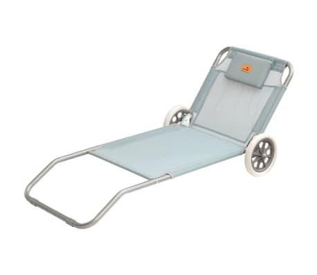 easy camp klappbare sonnenliege pier blau 62 x 150 x 22 cm 420044 g nstig kaufen. Black Bedroom Furniture Sets. Home Design Ideas