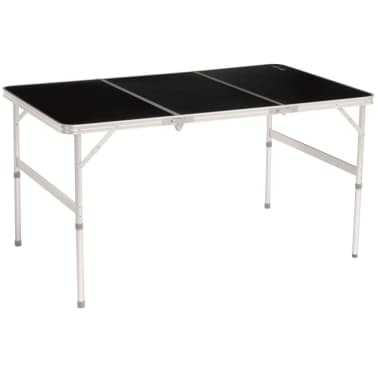 Splitter nya Handla Outwell Hopfällbart bord Colinas 134x70x80 cm svart 530086 PD-72