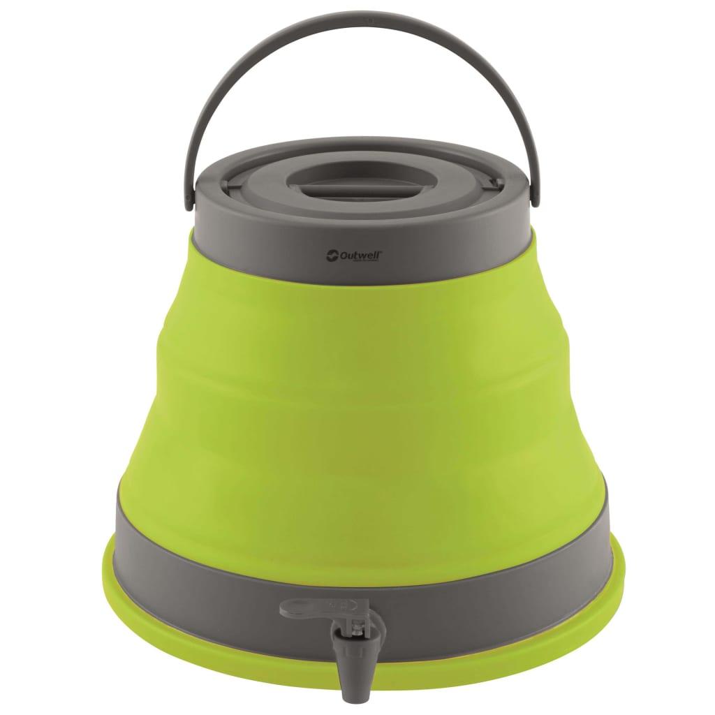 Outwell sammenklappelig vanddunk 12 l limegrøn 650686