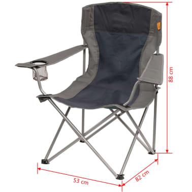 easy camp klappbarer campingstuhl dunkelblau 53 x 82 x 88 cm 480044 zum schn ppchenpreis. Black Bedroom Furniture Sets. Home Design Ideas
