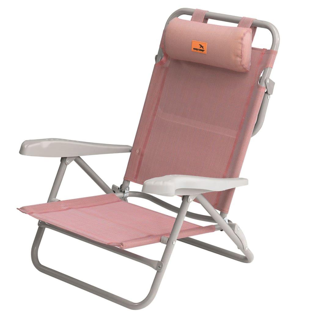 Easy Camp Scaun de plajă Breaker, roz, 50 x 65 x 77 cm, 420036 vidaxl.ro