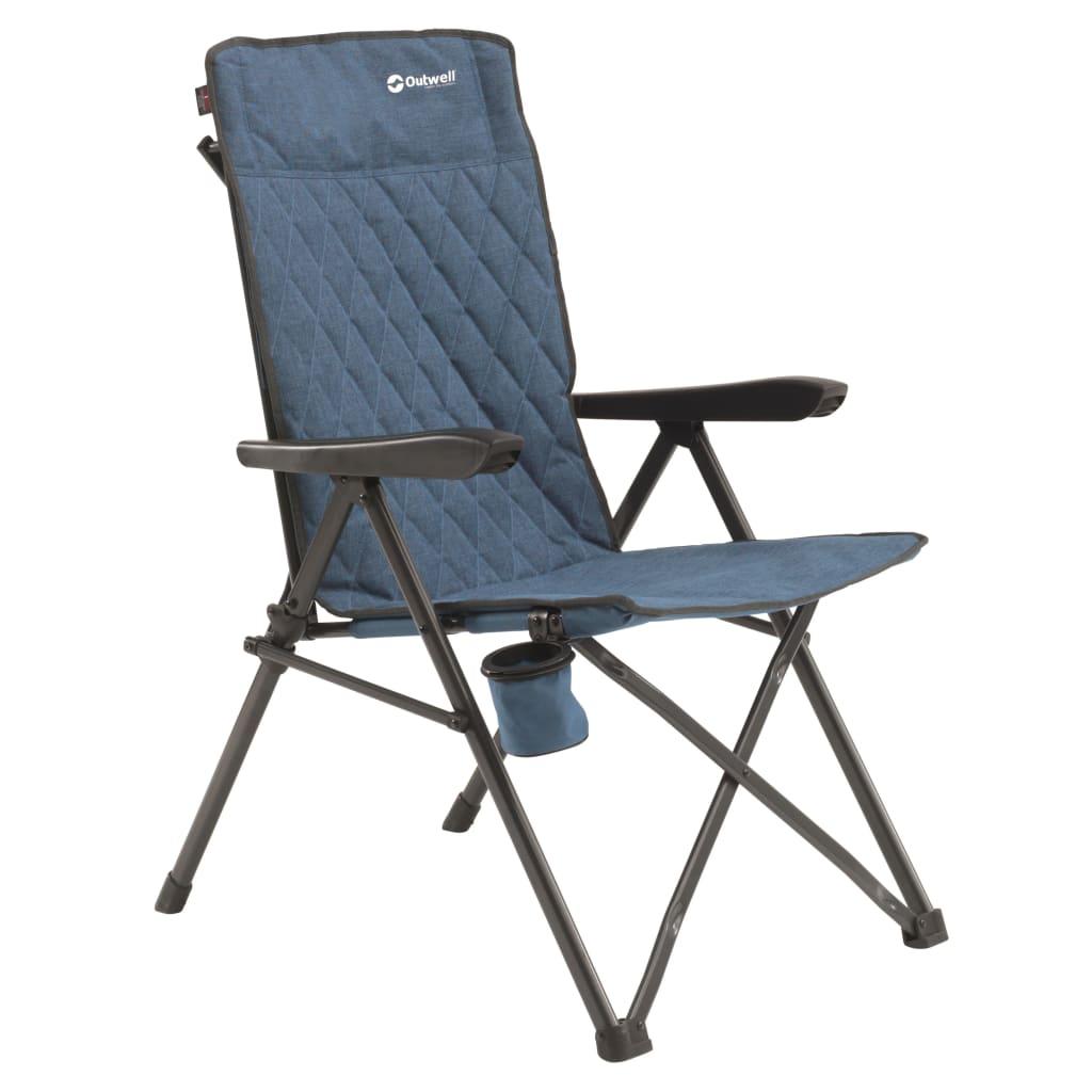 Outwell Scaun de camping pliabile Lomond, albastru poza 2021 Outwell
