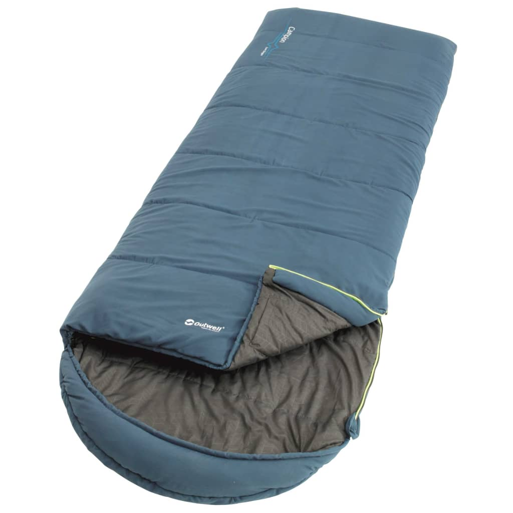 Outwell Sac de dormit Campion Lux, 3 anotimpuri, albastru, 230258 poza vidaxl.ro