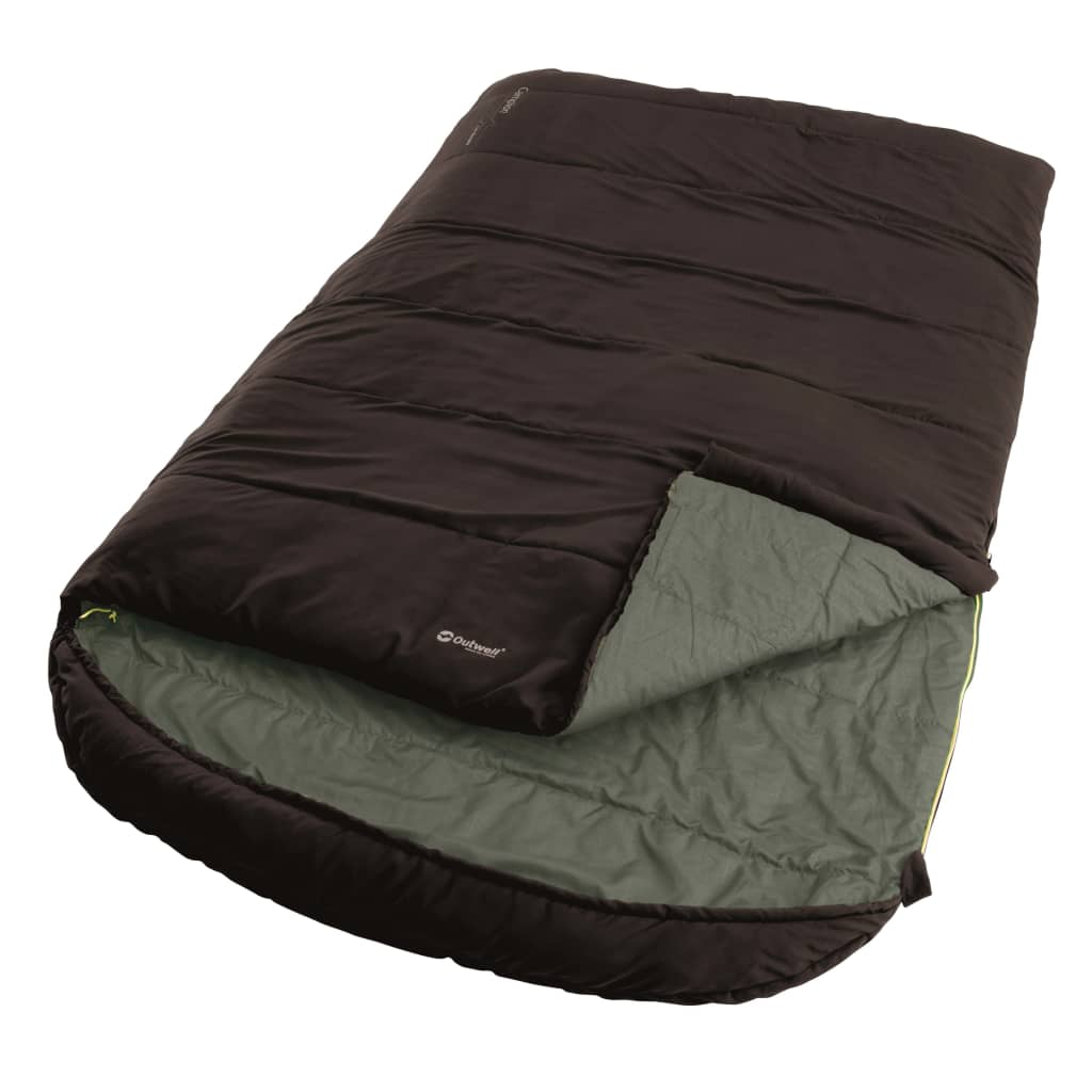 Outwell Sac de dormit 2 persoane Campion Lux Double maro 225x140 cm poza vidaxl.ro