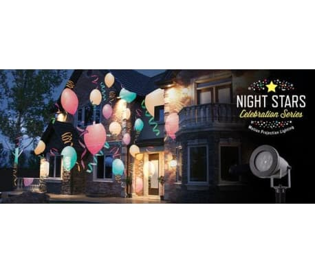 Night Stars LED-lampa Holiday Charms 6 mönster 12 W NIS004[3/7]