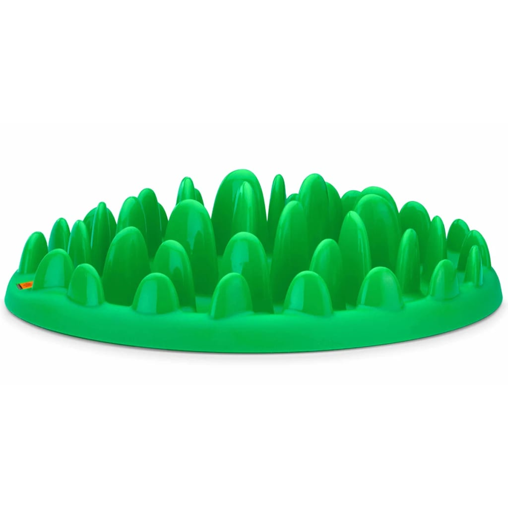Northmate Dispozitiv hrănire lent pentru câini, verde, 40x30x10 cm imagine vidaxl.ro