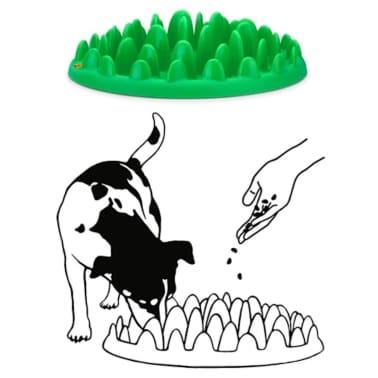 Northmate Mangeoire pour chiens Vert 40 x 30 x 10 cm 44079[2/2]