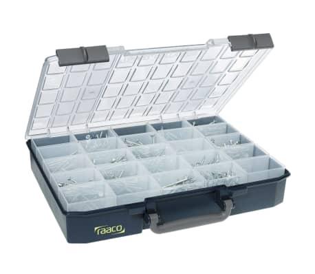 acheter mallette de rangement avec 25 inserts carrylite 80 5x10 raaco 136327 pas cher. Black Bedroom Furniture Sets. Home Design Ideas