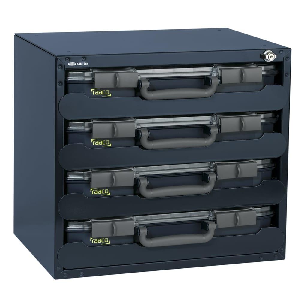 Afbeelding van Raaco assortimentsdoos Safe Box incl. 4 CarryLite 55 dozen 136372