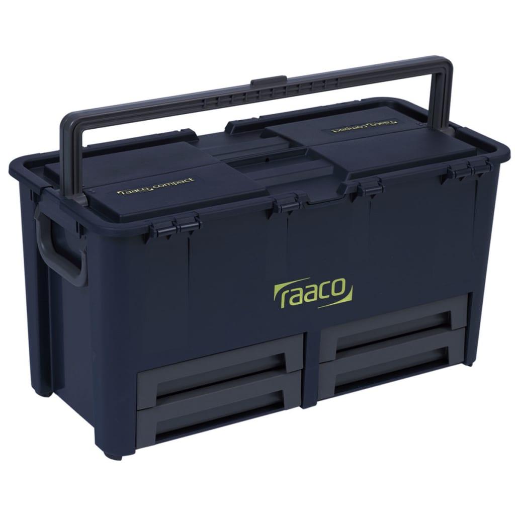 Raaco Verktøykasse Compact 62 med 10 innsatser 136624