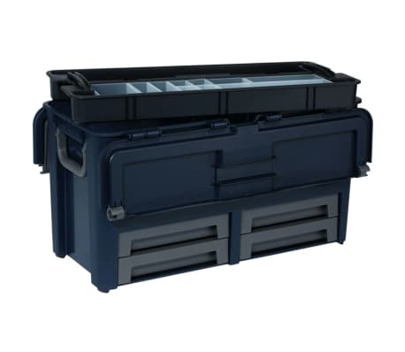 Shop Raaco Værktøjskasse 62 med 10 indlæg 136624 | vidaXL