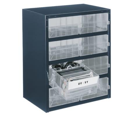 raaco schrank 250 8 2 mit 8 schubladen 137584 g nstig kaufen. Black Bedroom Furniture Sets. Home Design Ideas