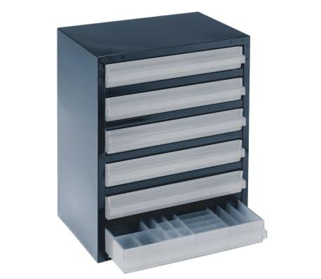 raaco schrank 250 6 3 mit 6 schubladen 137591 g nstig kaufen. Black Bedroom Furniture Sets. Home Design Ideas