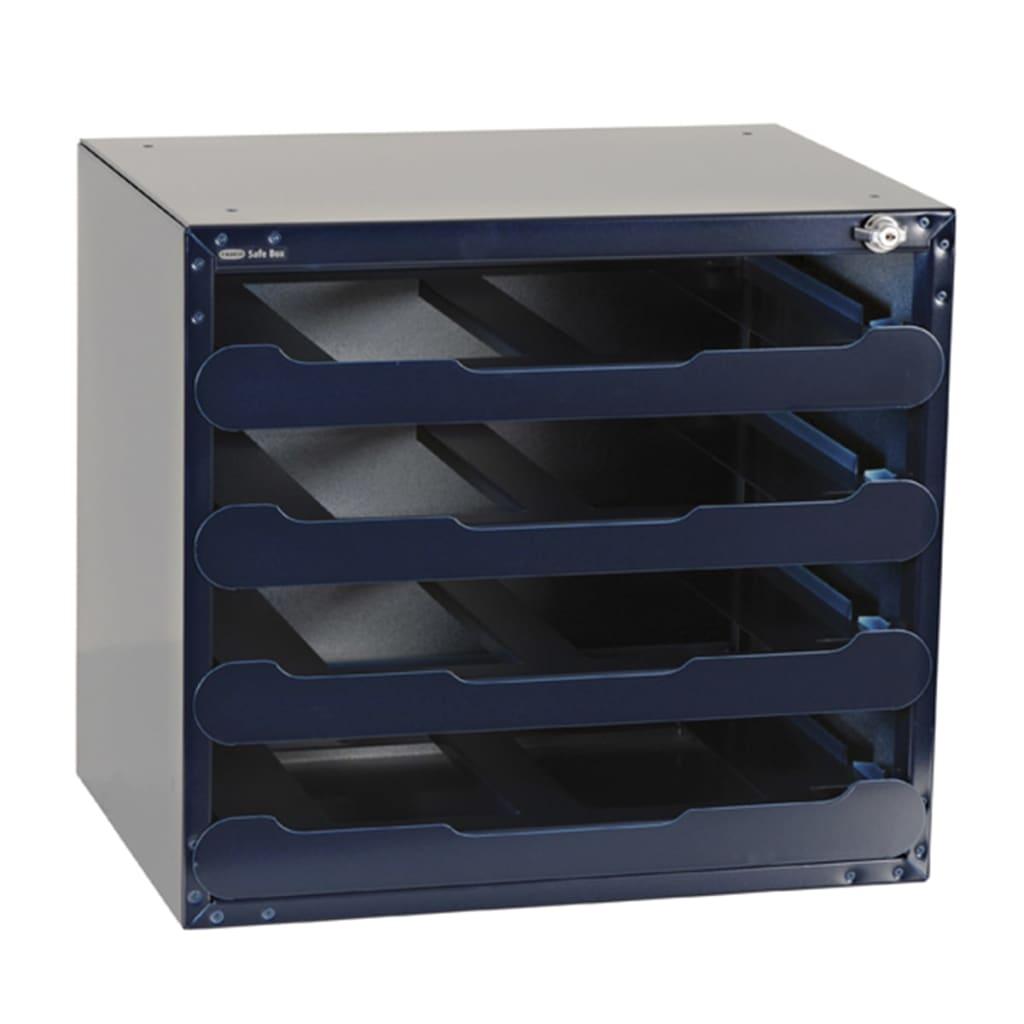Raaco Seif de depozitare pentru 4 casete CarryLite 55 Gol 139328 imagine vidaxl.ro