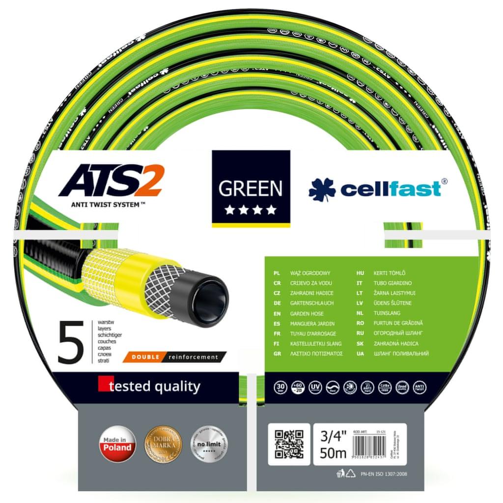 Cellfast Tuinslang ATS2 3 4 50 m groen