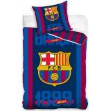 FC Barcelona Dekbedovertrek 140 x 200 cm rood/blauw/geel