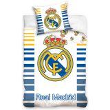 Real Madrid dekbedovertrek wit blauw 140 X 200