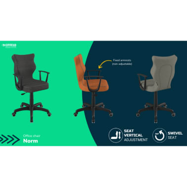 Good Chair Chaise de bureau ergonomique NORM Orange BA-B-6-B-C-FC34-B[4/6]