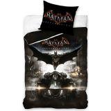 DC Comics dekbedovertrek Batman Arkham 140 x20 0x 80 cm zwart