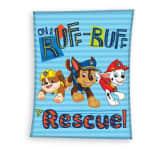 Nickelodeon fleece-deken Paw Patrol lichtblauw 140 x 110 cm