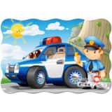 Castorland legpuzzel Police Patrol Maxi 20 stukjes
