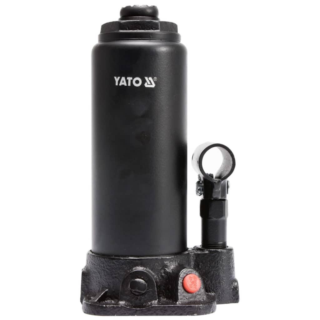YATO Cric hidraulic pentru 5 tone, YT-17002 imagine vidaxl.ro