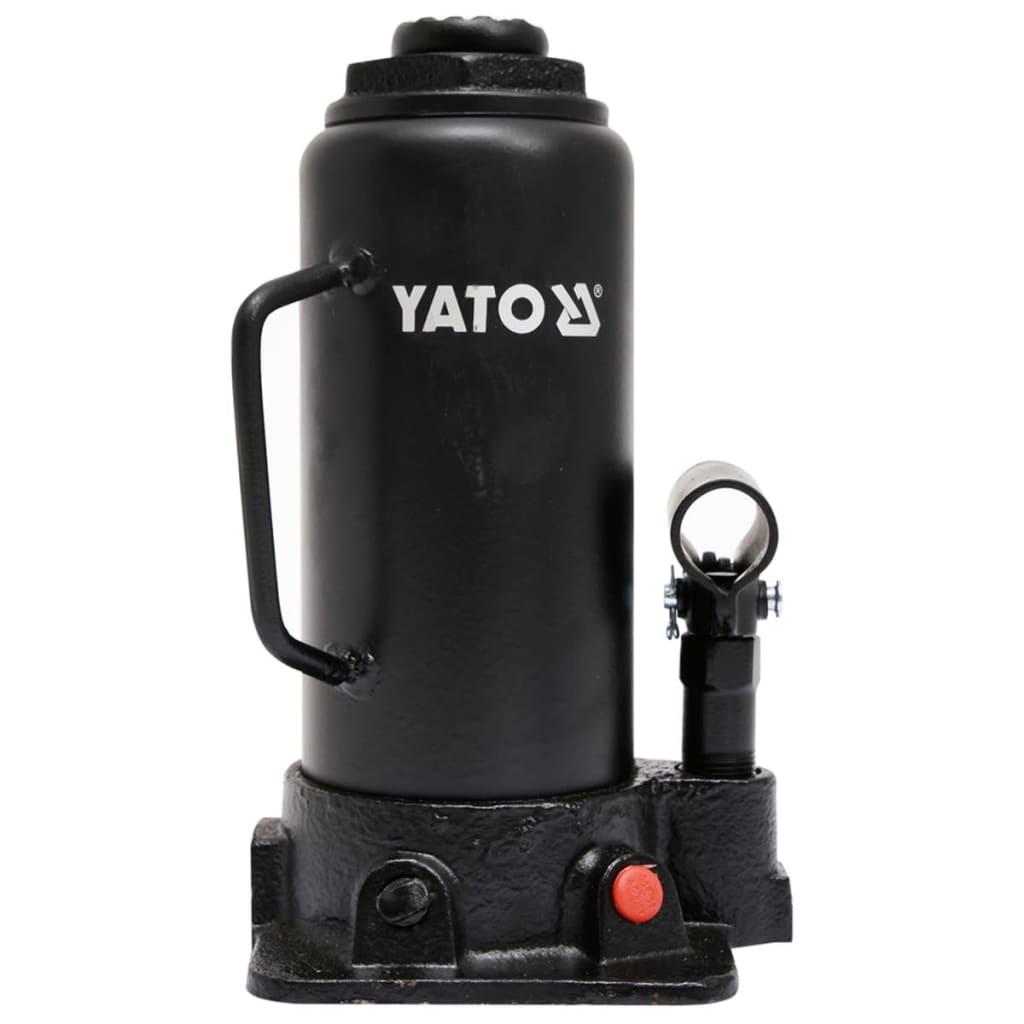 YATO Cric hidraulic pentru 12 tone, YT-17005 imagine vidaxl.ro
