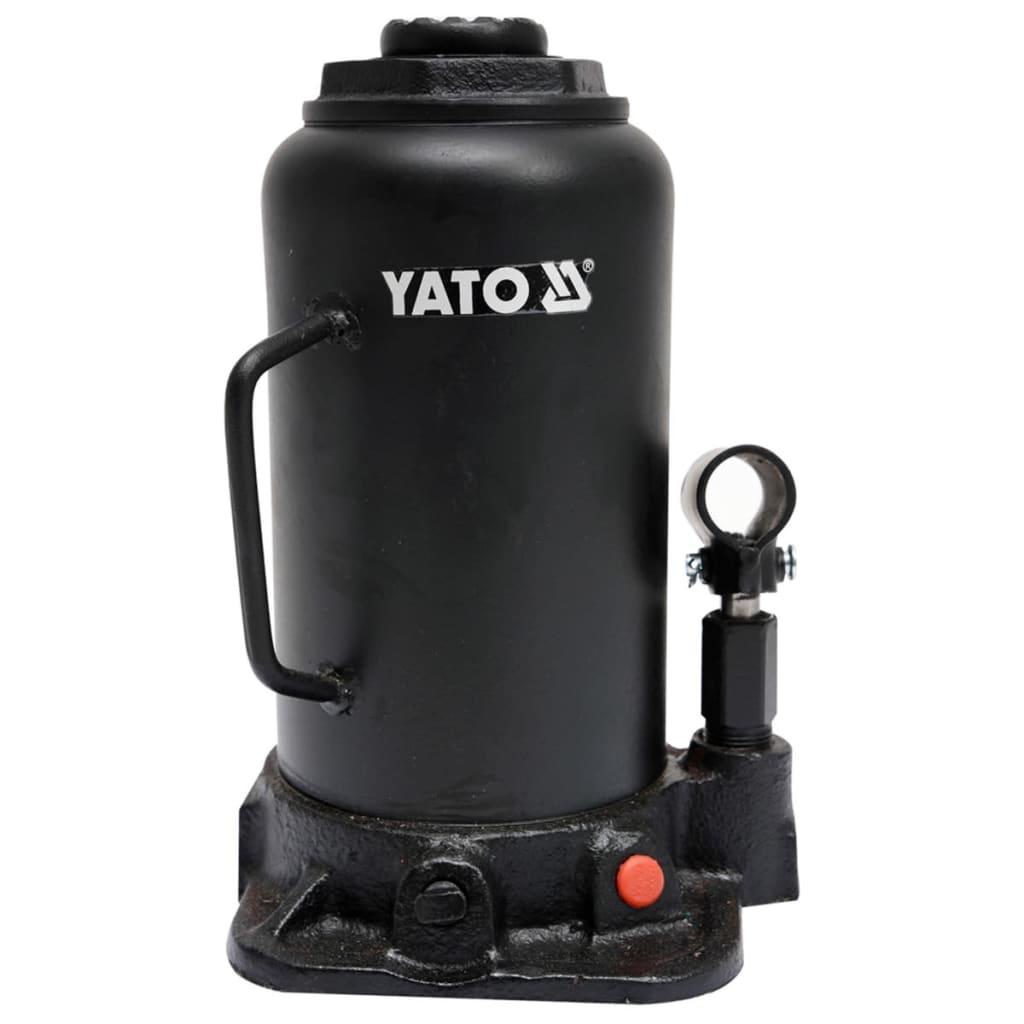 YATO Cric hidraulic pentru 20 tone, YT-17007 imagine vidaxl.ro