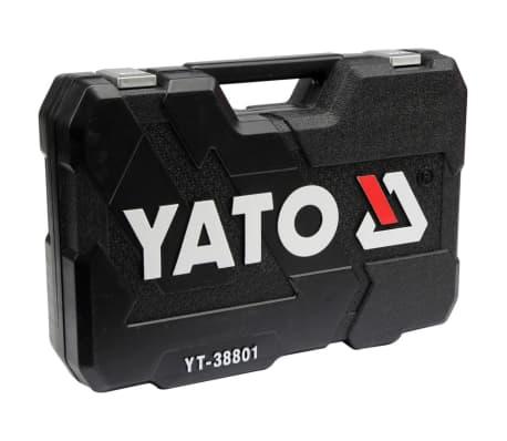 YATO 120-tlg. Ratschen-Steckschlüssel-Set YT-38801[4/4]