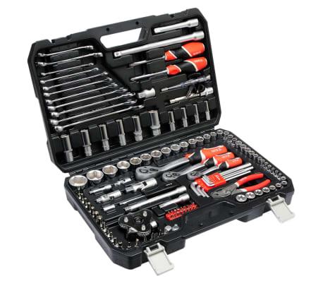 YATO Spärrhandtag för hylsnyckel 126 delar YT-38875