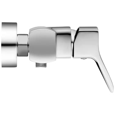 Fala Grifo de ducha de montaje en la pared Soria latón 75763[3/4]