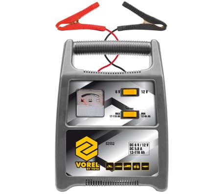 vorel autobatterie ladeger t 116 ah silbern 82552 g nstig kaufen. Black Bedroom Furniture Sets. Home Design Ideas