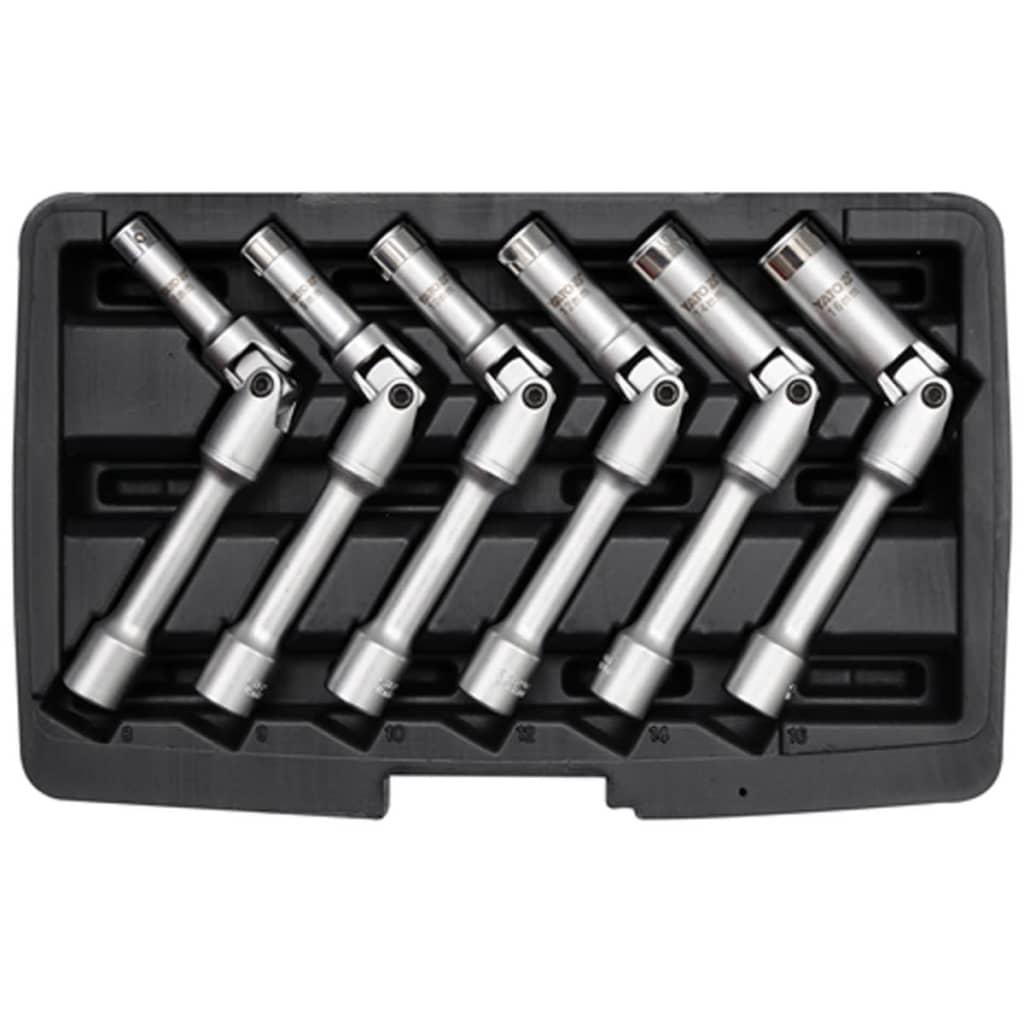 YATO Gelenk-Steckschlüssel für Zündkerzen