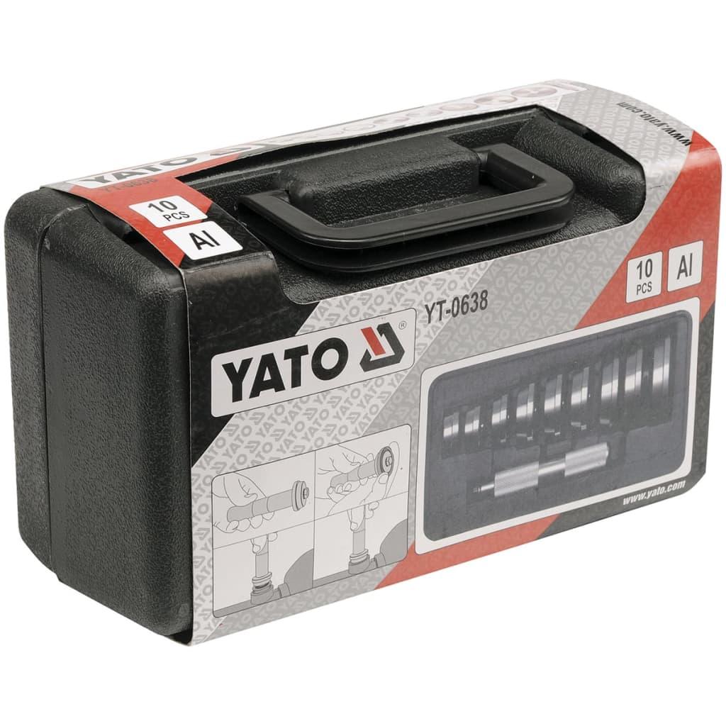 YATO 10-delige Bearing & Seal Driver Set