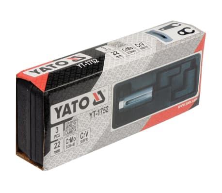 Yato Steckschlüssel für Sauerstoffsensor Set 3-tlg.[2/2]