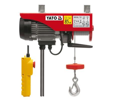 YATO Elektrinis keltuvas 500 W 125/250 kg[2/2]