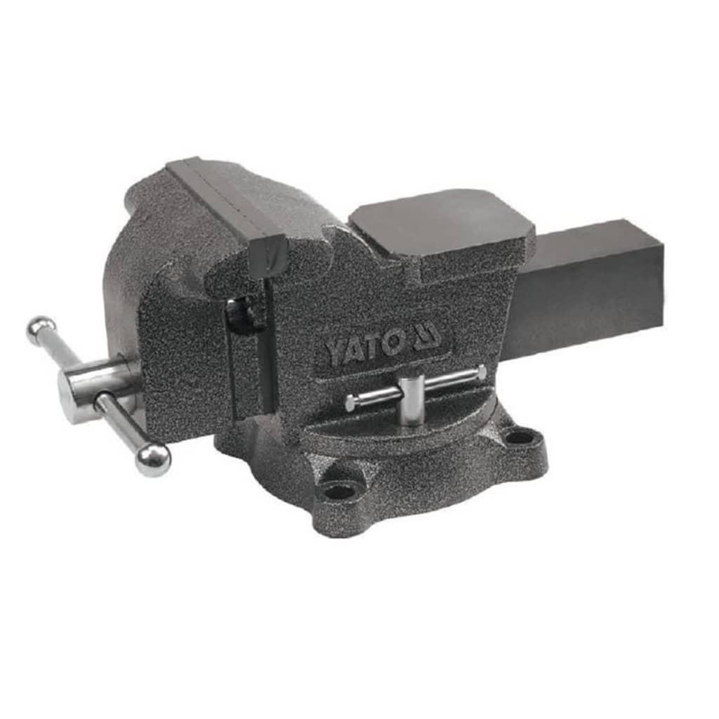 YATO Menghină de banc, 150 mm, fontă, YT-6503 vidaxl.ro