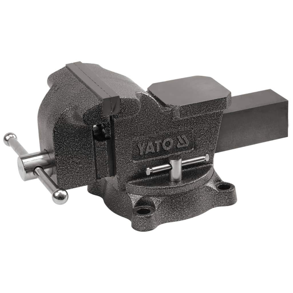 YATO Menghină de banc, 200 mm, fontă, YT-6504 vidaxl.ro
