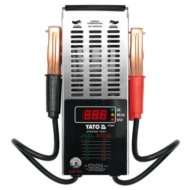 YATO Comprobador digital de bateria 12 V[2/2]