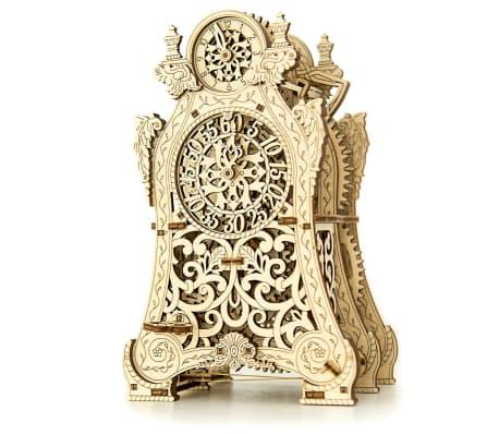 Eco-Wood-Art Byggmodell i trä magisk klocka