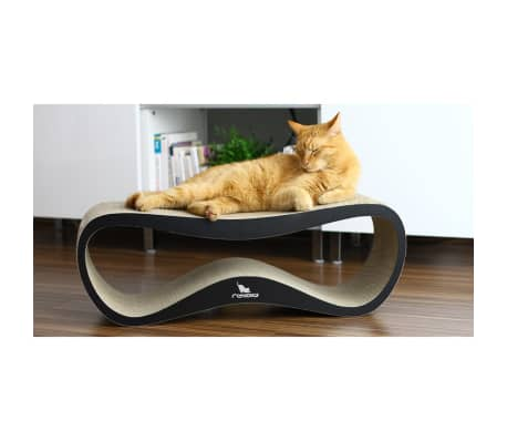 MyKotty Griffoir pour chats LUI 75 x 25 x 25 cm Noir 3083[3/6]