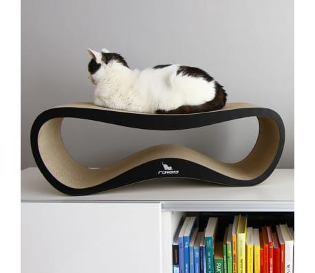MyKotty Griffoir pour chats LUI 75 x 25 x 25 cm Noir 3083[5/6]